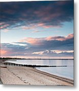 Blyth Harbour At Sunset Metal Print
