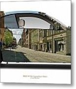 Bmw 335i Queen Street Metal Print