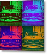 Bmw Racing Pop Art 1 Metal Print by Naxart Studio