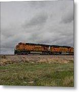 Bnsf Train 5833 B Metal Print