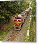 Bnsf Train 789 D Metal Print