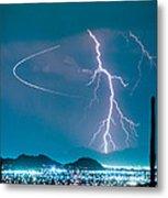 Bo Trek The Lightning Man Metal Print