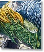 Boann Transformation Of A Goddess Metal Print