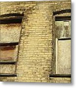 Boarded Windows 2 Metal Print