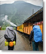 Boarding The Durango Silverton Narrow Metal Print