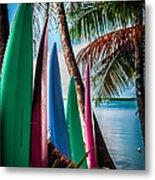 Boards Of Surf Metal Print