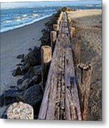 Boardwalk - Charleston Sc Metal Print