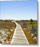 Boardwalk Metal Print by Susan Leggett