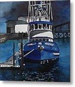 Boat At Rest Metal Print