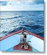 Boat Bow Metal Print