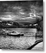 Boat Dock At Sperry Chalet 2 Metal Print