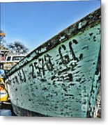 Boat - In A State Of Decay Metal Print by Paul Ward