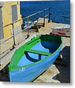 Only A Boat And Everything Else Metal Print