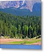 Boat Launch Metal Print