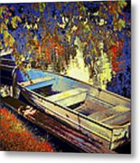 Boat Number 12 Metal Print