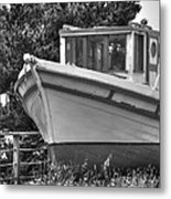 Boat Out Of The Water Metal Print