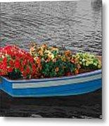 Boat Parade Metal Print