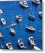 Boat Parking Metal Print