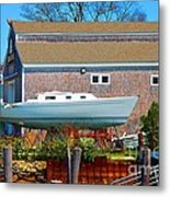 Boat Repair Shop Number Two Metal Print