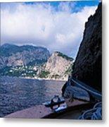 Boat Ride To Capri Metal Print