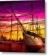 Boat - Sailing - Fleet Week Metal Print by Mike Savad