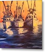Boat Series 1 Second Edition Metal Print