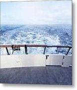 Boat Stern Metal Print