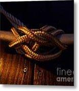Boat Tie Metal Print