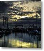 Boat Yard Metal Print