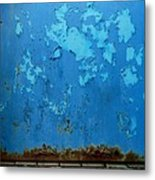 Boathouse Door Metal Print