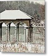 Boathouse Pavilion Metal Print