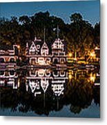 Boathouse Row Panorama Metal Print
