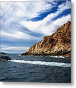 Boating In Cabo Metal Print