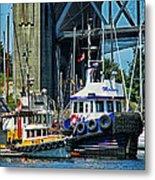 Boats And Tugs Hdrbt3221-13 Metal Print
