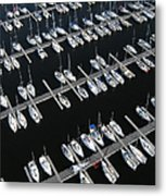 Boats At Nepean Sailing Club Metal Print