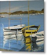 boats of Cadaques Metal Print