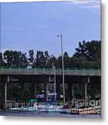 Boats Of Huron Ohio Metal Print by Jackie Bodnar