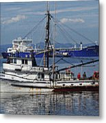 Boats Of The North West Metal Print