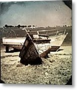 Boats On The Bay Metal Print by Marco Oliveira