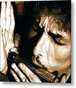 Bob Dylan Artwork 2 Metal Print