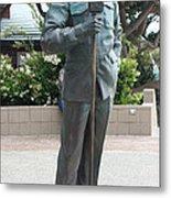 Bob Hope Memorial Statue Metal Print