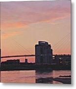 Bob Kerry Pedestrian Bridge Metal Print