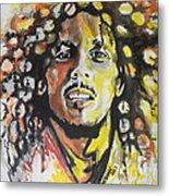 Bob Marley 02 Metal Print