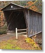 Bob White Covered Bridge Metal Print