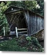 Bob White's Covered Bridge Metal Print