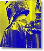 Boba Fett Costume 1 Metal Print