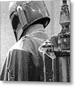 Boba Fett Costume 3 Metal Print