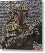 Boba Fett Quotes Mosaic Metal Print