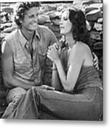 Bobbie Jo And The Outlaw  Metal Print by Silver Screen