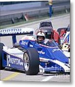 Bobby Unser In The Norton Race Car Metal Print by Martin Sullivan